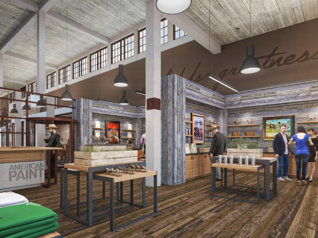 Structural Design for Interior Finish-Out of New HQ of the American Paint Horse Association