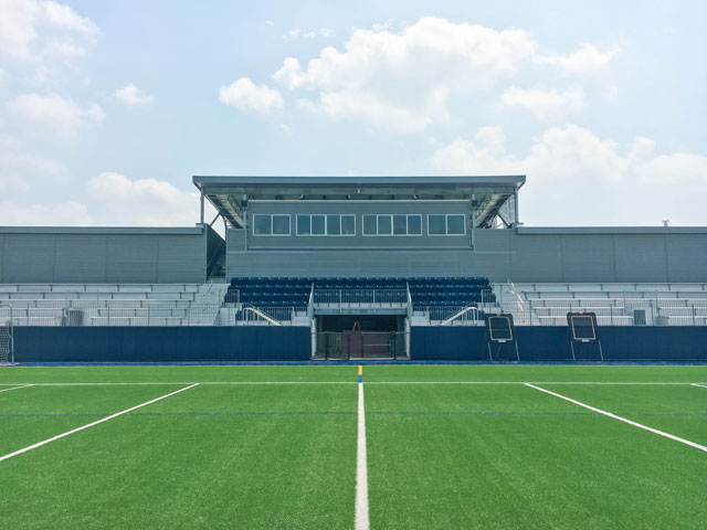 JQ Provides Structural Engineering for Caress Stadium at Helfman Field at The Emery Weiner School