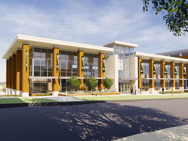 Structural Engineering Services for University of North Texas' New Dining Hall