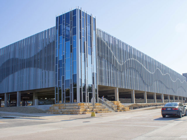 JQ Completes Structural Engineering Work on UT Dallas' Largest Parking Structure