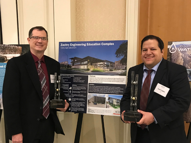 JQ Honored with Eminent Conceptor Engineering Award by ACEC Texas