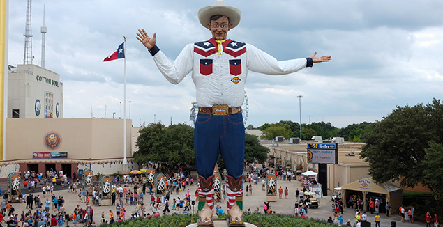 Big Tex Reconstruction, State Fair of Texas