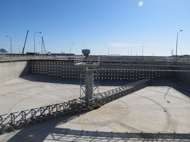 Flocculation and Sedimentation Basin Improvements, Eastside Water Treatment Plant