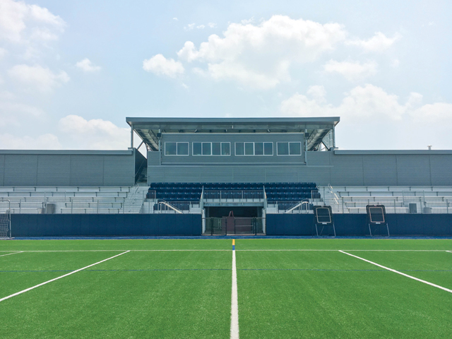 Helfman Field at Caress Stadium
