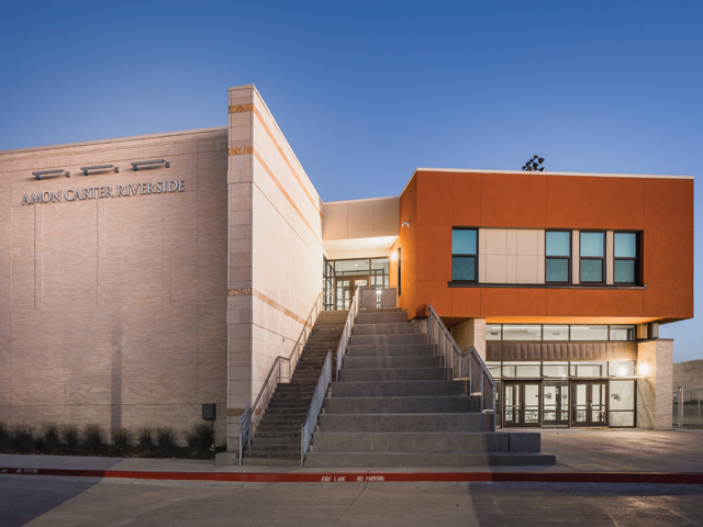 Amon Carter-Riverside High School Renovations and Expansion