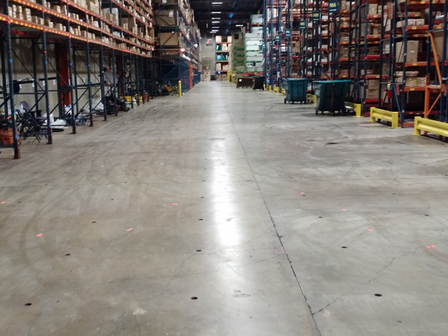 Parts Distribution Center Slab Repairs