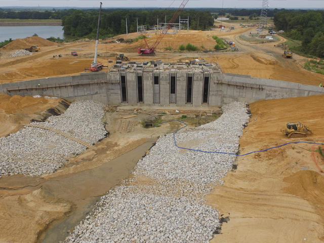 Cedar Creek Lake JCC1 Lake Intake and Pump Station, Integrated Pipeline Project