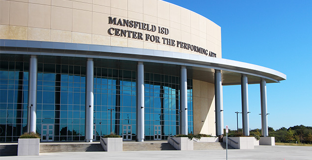 Auditorium and Professional Development Center, Mansfield ISD