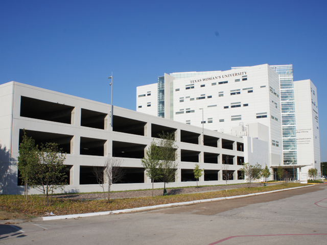 T. Boone Pickens Allied Health Parking Garage, Texas Woman's University