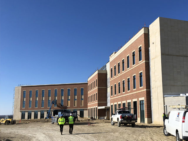 Multipurpose Building 1, New Fort Worth Campus