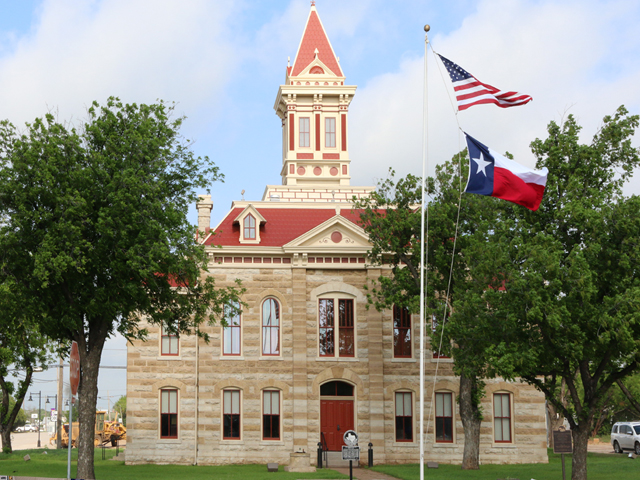Throckmorton County Courthouse Restoration