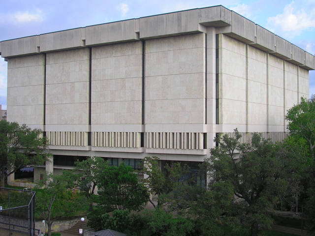 Harry Ransom Center Building Exterior Maintenance