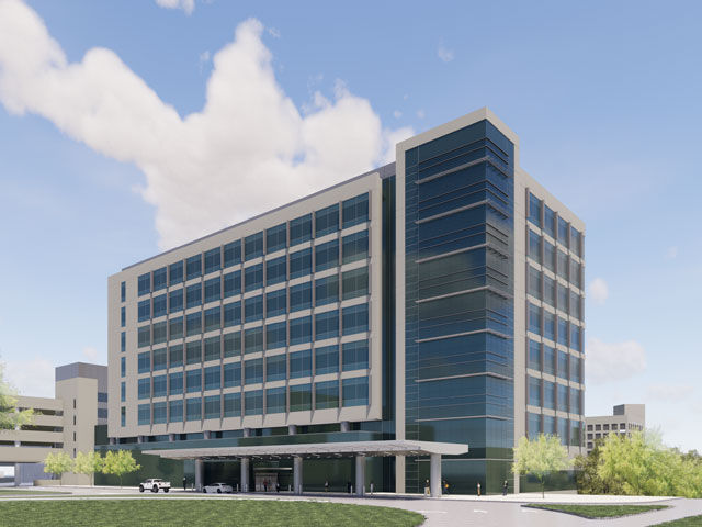 North Campus Outpatient Cancer Care and Brain Research Towers