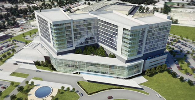 William P. Clements University Hospital, UTSWMC