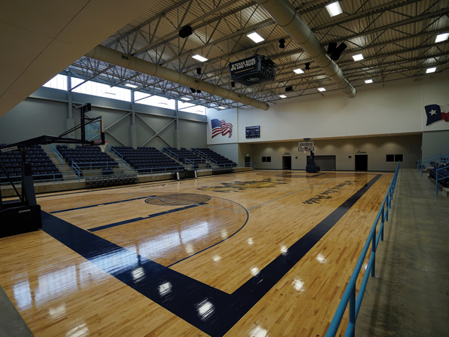 Lion Center Competitive Gymnasium and Performance Auditorium