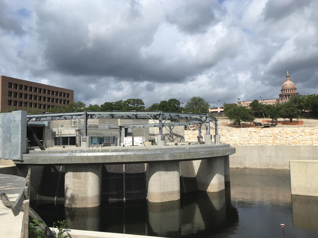 Inlet Facility at Waterloo Park, Waller Creek Tunnel